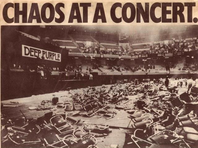 Chaos at Concert
